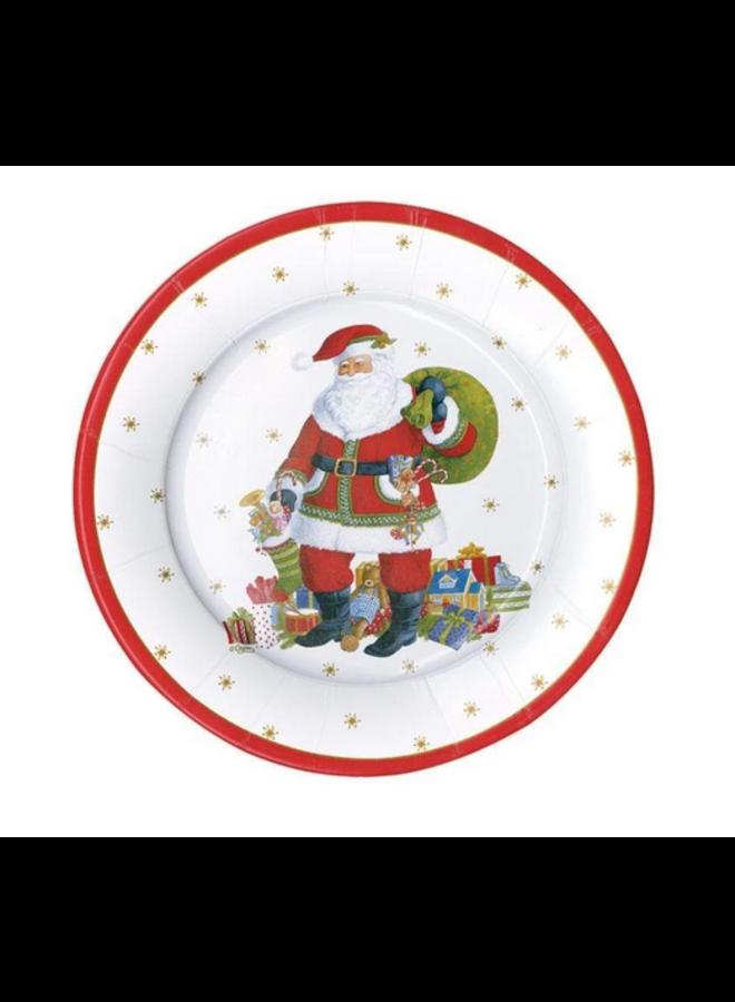 Salad Plate - Santa Claus Lane