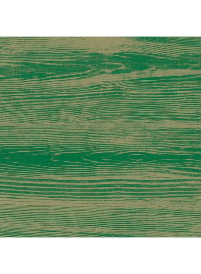 Wrapping Paper - Faux Bois Green