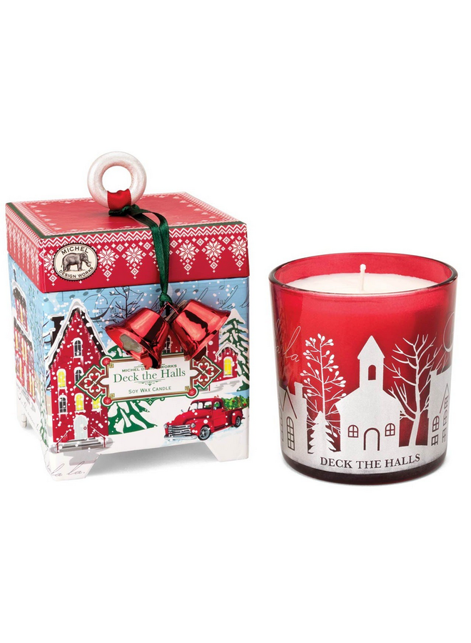 Soy Wax Candle Deck the Halls