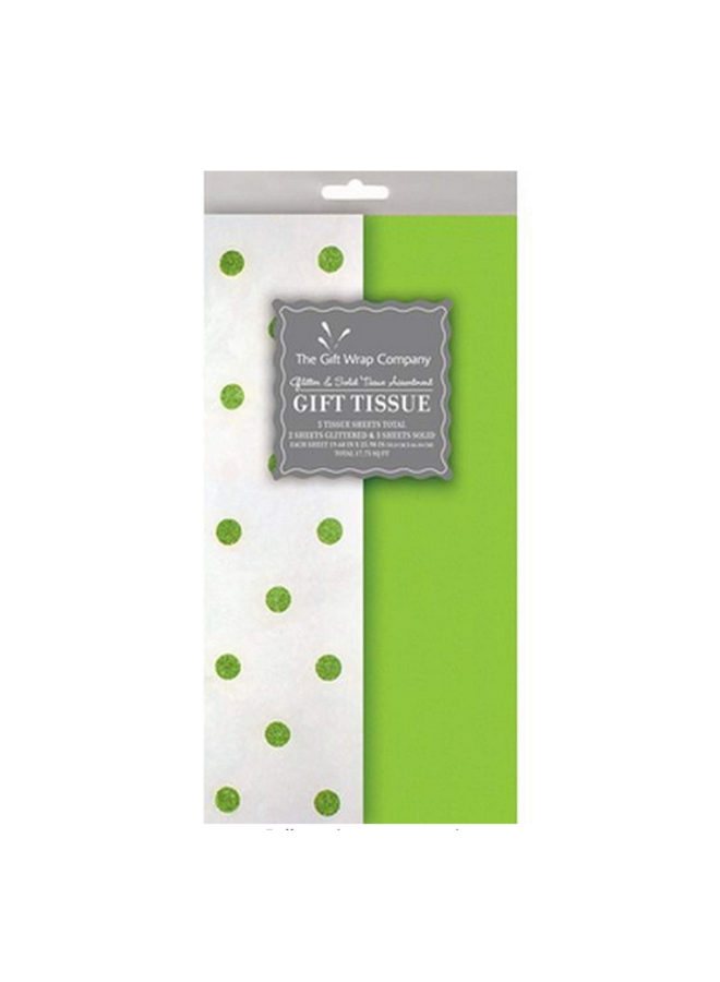 Tissue Green Dots