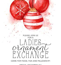 Address to Impress Address to Impress - Red Ornaments