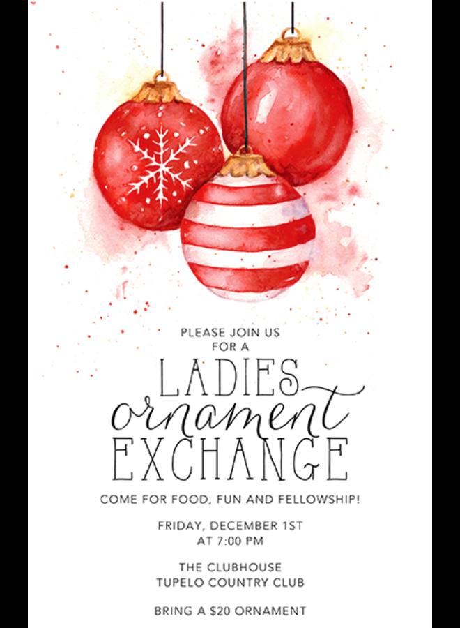 Address to Impress - Red Ornaments