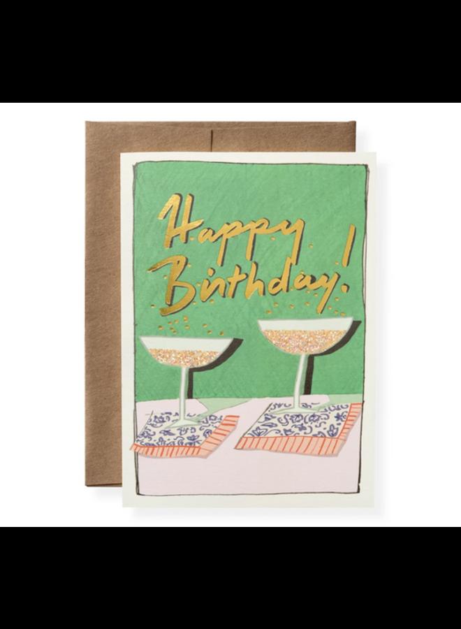 Greeting Card - Birthday Bubbles