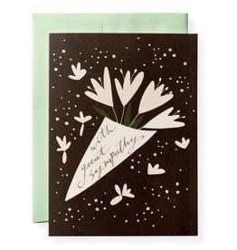 Karen Adams Greeting Card - Sympathy