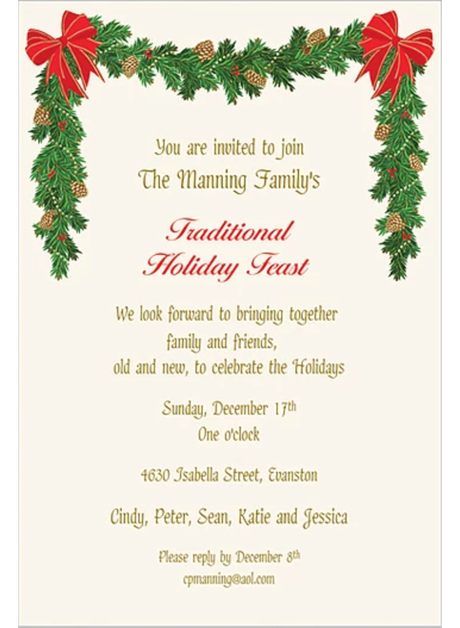Faux Designs - Holiday Garland