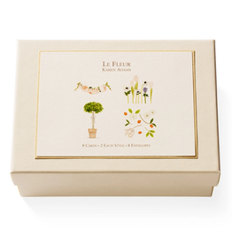 Karen Adams Note Card Box - LeFleur