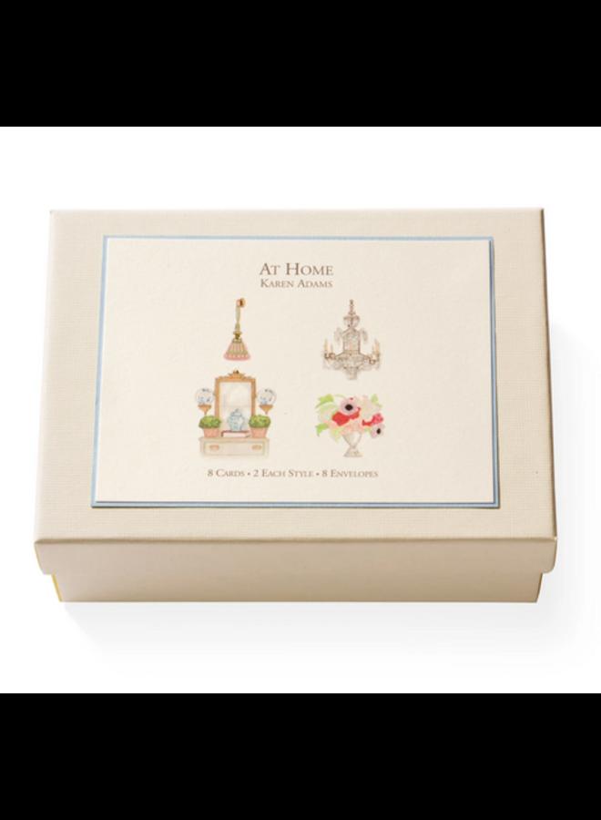Note Card Box - At Home