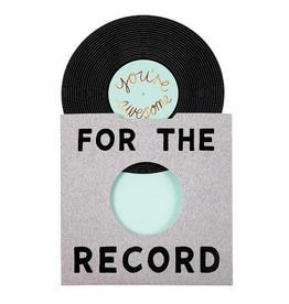 Meri Meri Greeting Card - For The Record