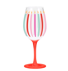 CR Gibson Acrylic Wine Glass - Candles