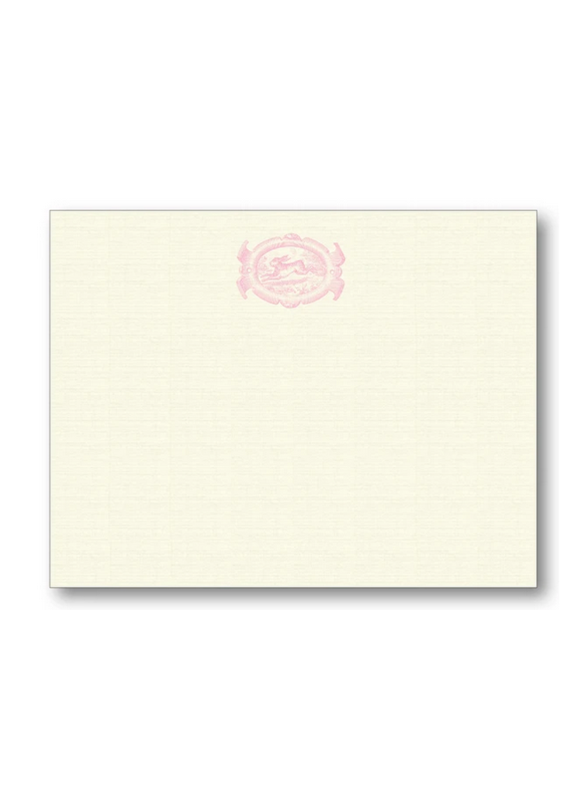 English Oval Hare - Pink
