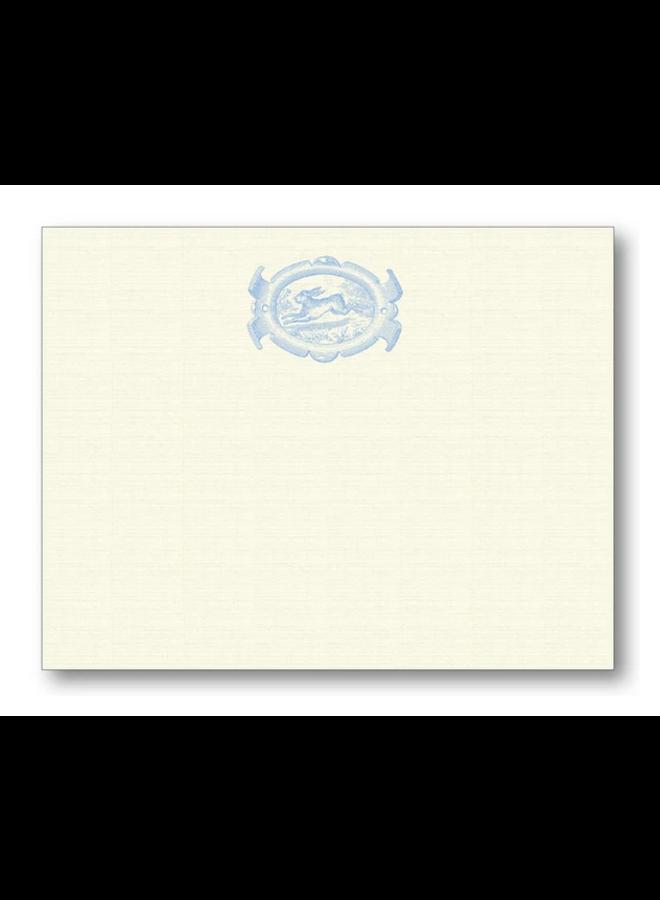 English Oval Hare - Blue