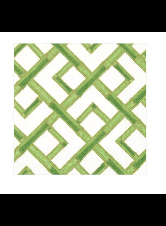 Cocktail Napkin - Bamboo Green