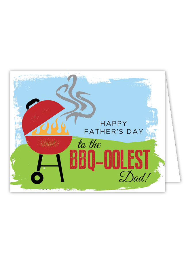 Card - BBQ-oolest Dad