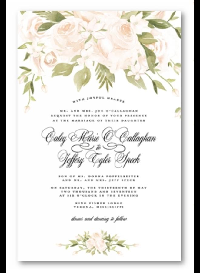 Address to Impress - Wedding in White