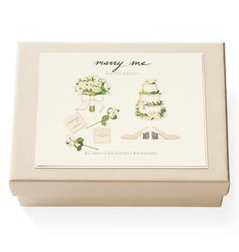Karen Adams Note Card Box - Marry Me