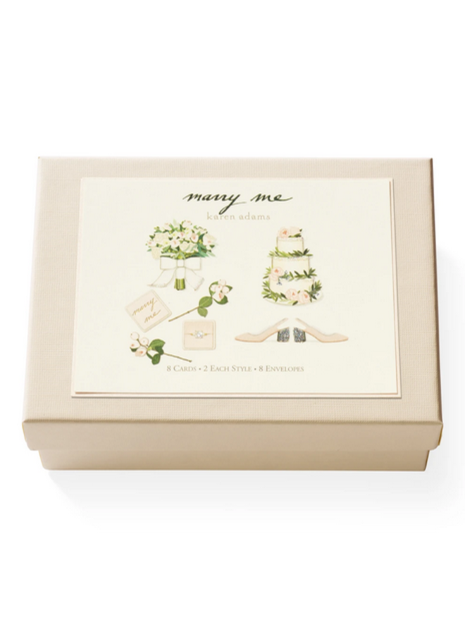 Note Card Box - Marry Me