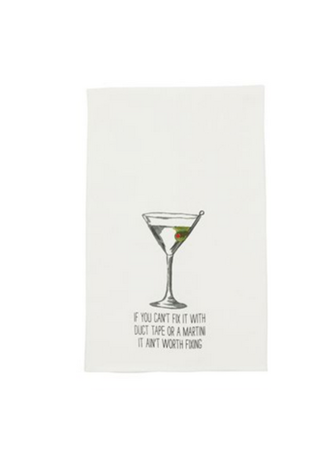 Martini Dish Towel