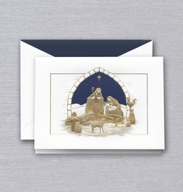 Crane Boxed Cards - Peaceful Manger