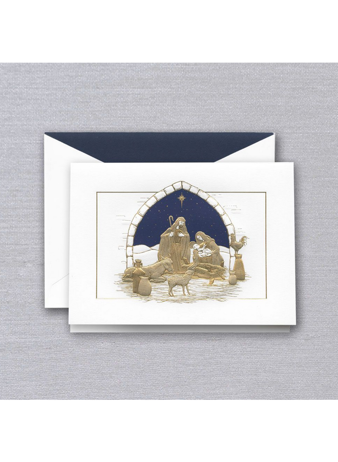 Boxed Cards - Peaceful Manger