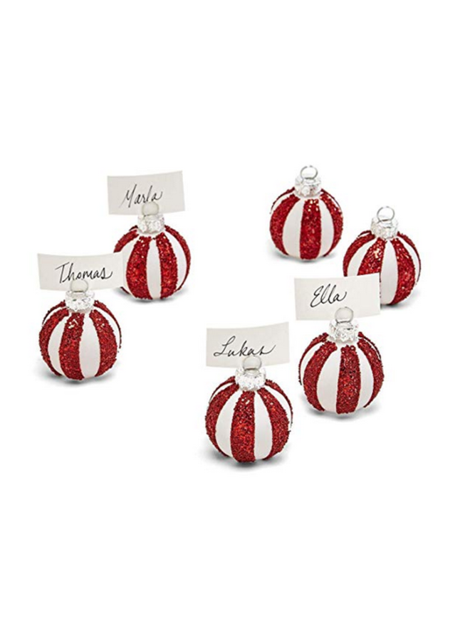 Ornament Place Card Holders
