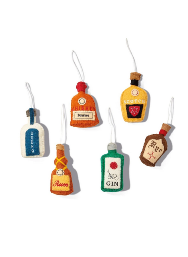 Bottled Spirits Ornament