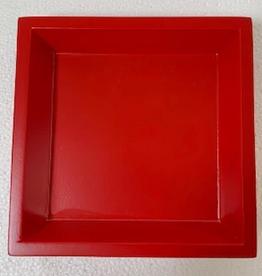 Deck the Halls Y'all Cocktail Napkin Holder - Red