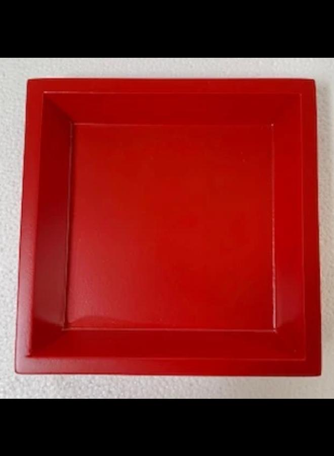 Cocktail Napkin Holder - Red