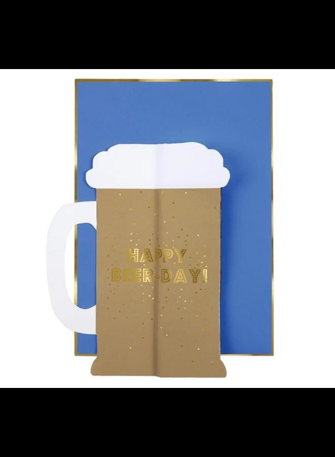 Greeting Card - Beer Honeycomb