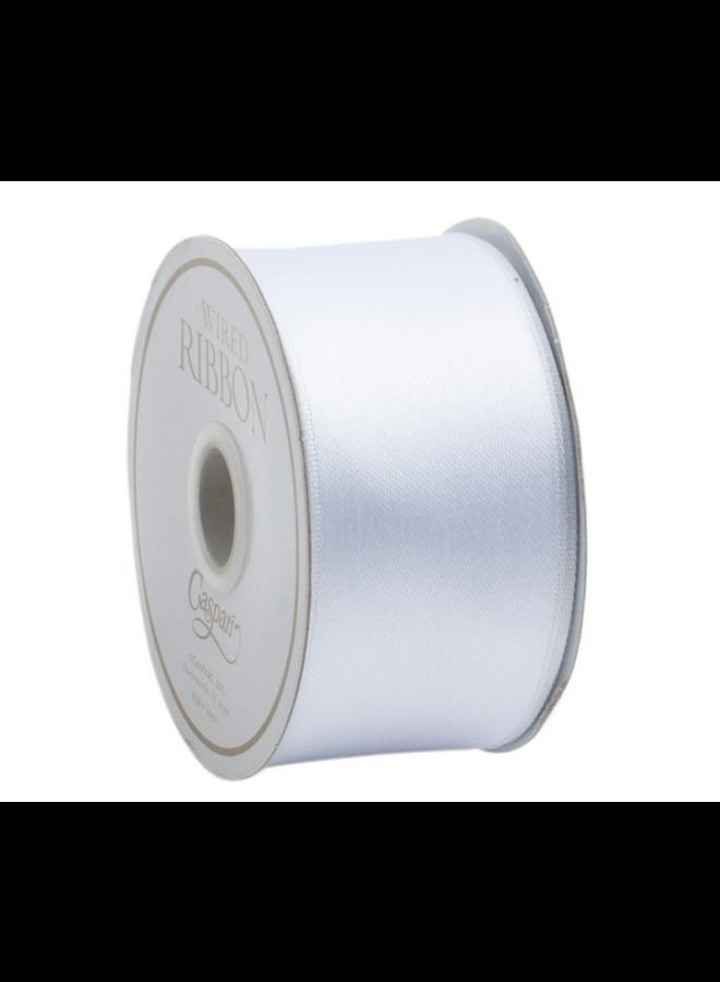 Ribbon White Satin