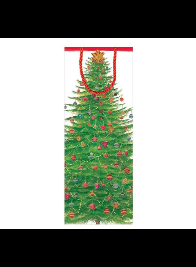 Wine Bag - Glittering Tree