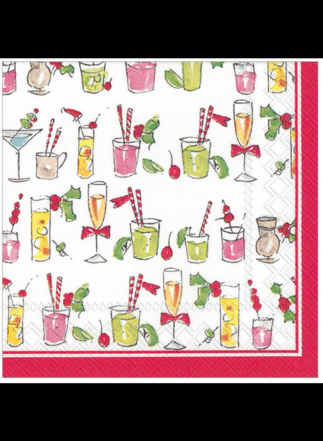 Cocktail Napkin - RosanneBeck Fun Cocktails
