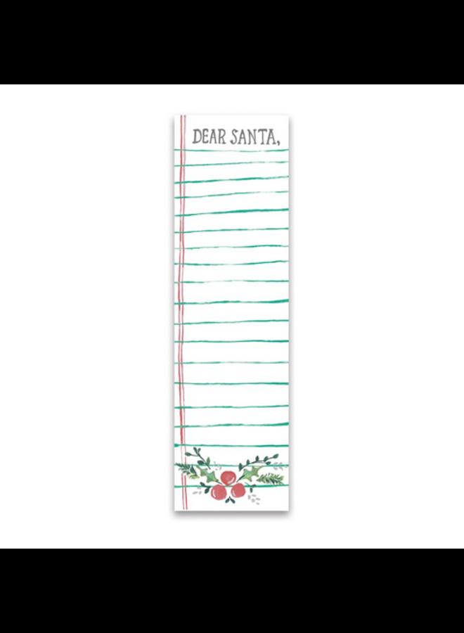Notepad - Dear Santa