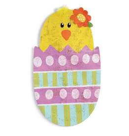 Demdaco Easter Chick in Egg Door Hanger