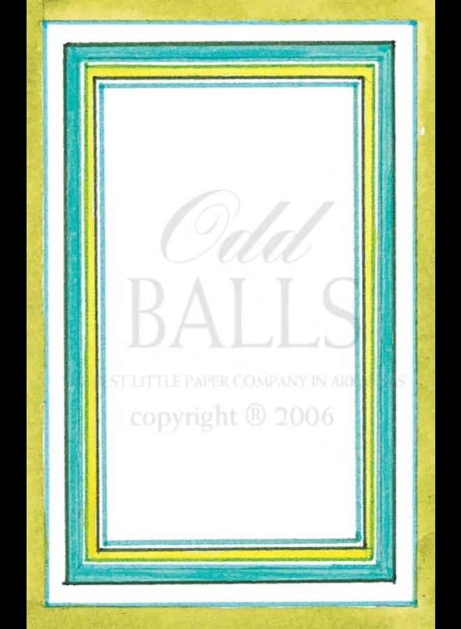 Odd Balls - French Mat - Grass