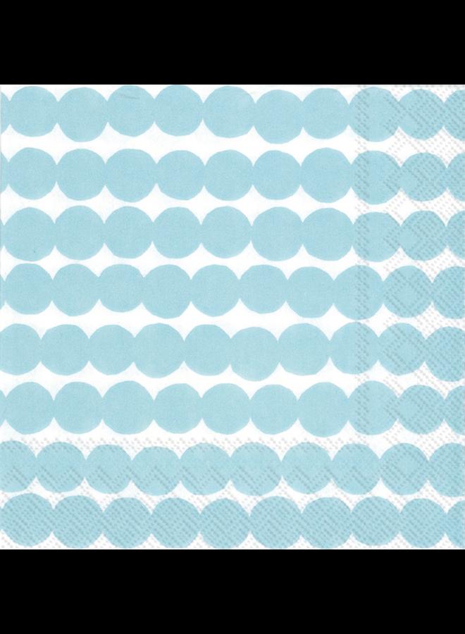 Cocktail Napkin - Marimekko Rasymotto light blue