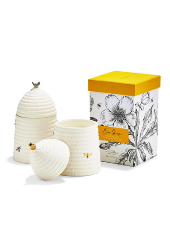 Bee Skep Candle