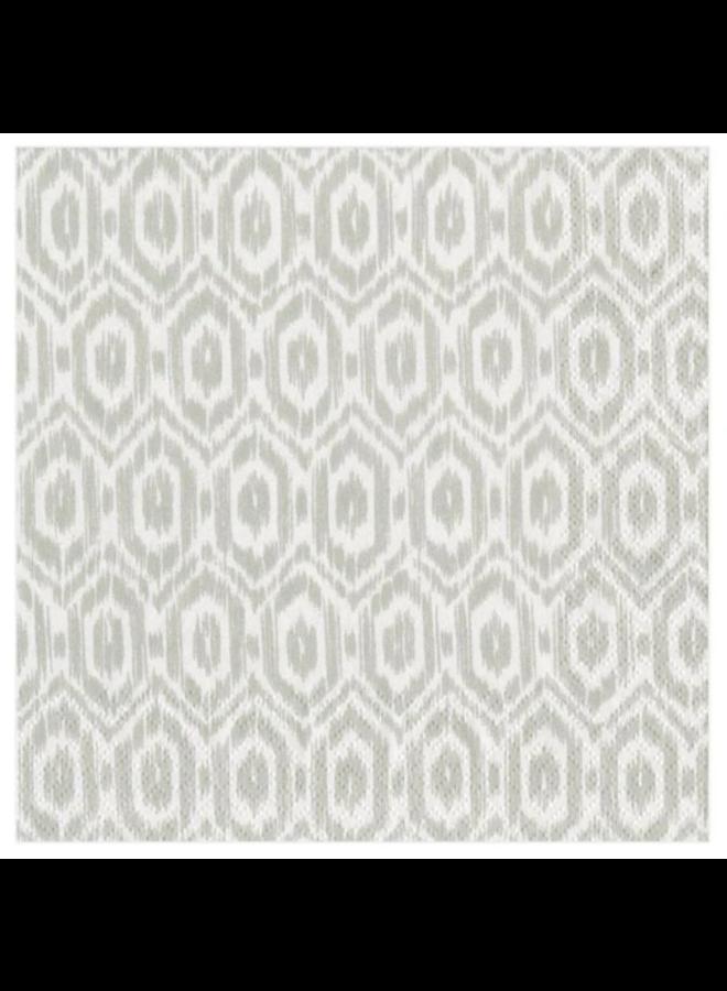 Cocktail Napkin - Amala Ikat Grey