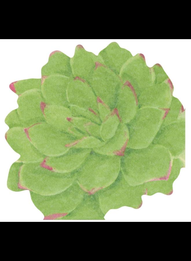 Party Napkins - Succulents Die-Cut