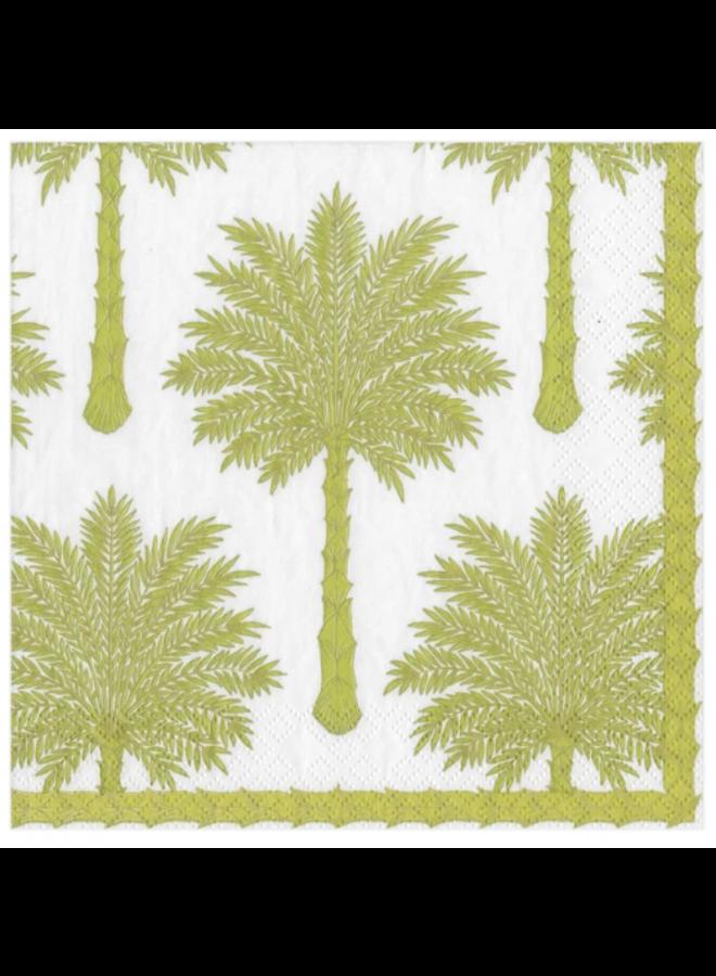 Cocktail Napkin - Grand Palms Green