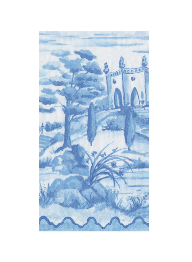 Guest Towel - Tuscan Toile Blue