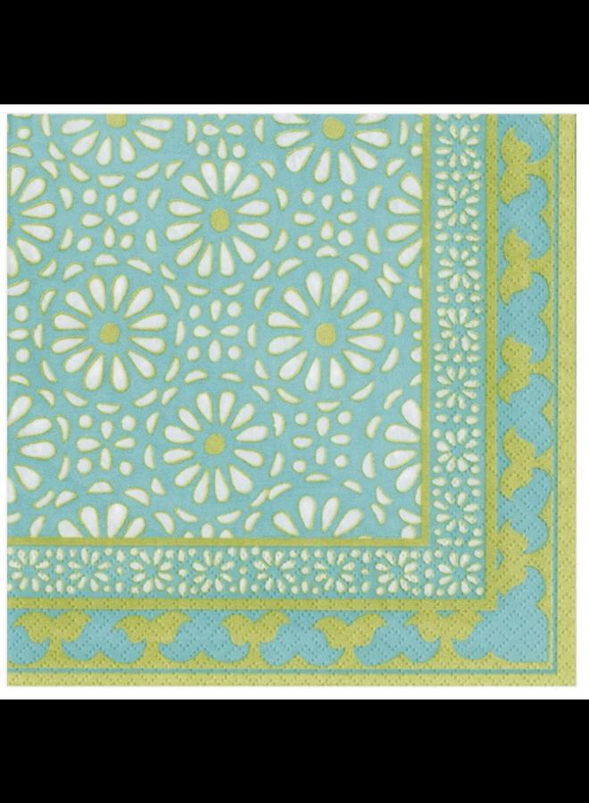 Luncheon Napkin - Alhambra Turquoise