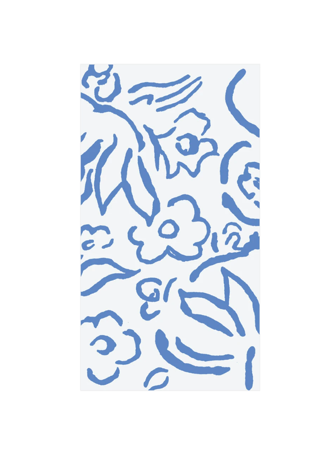 Guest Towel - Matisse Blue