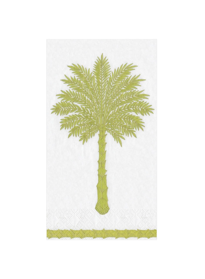 Guest Towel - Grand Palms Green