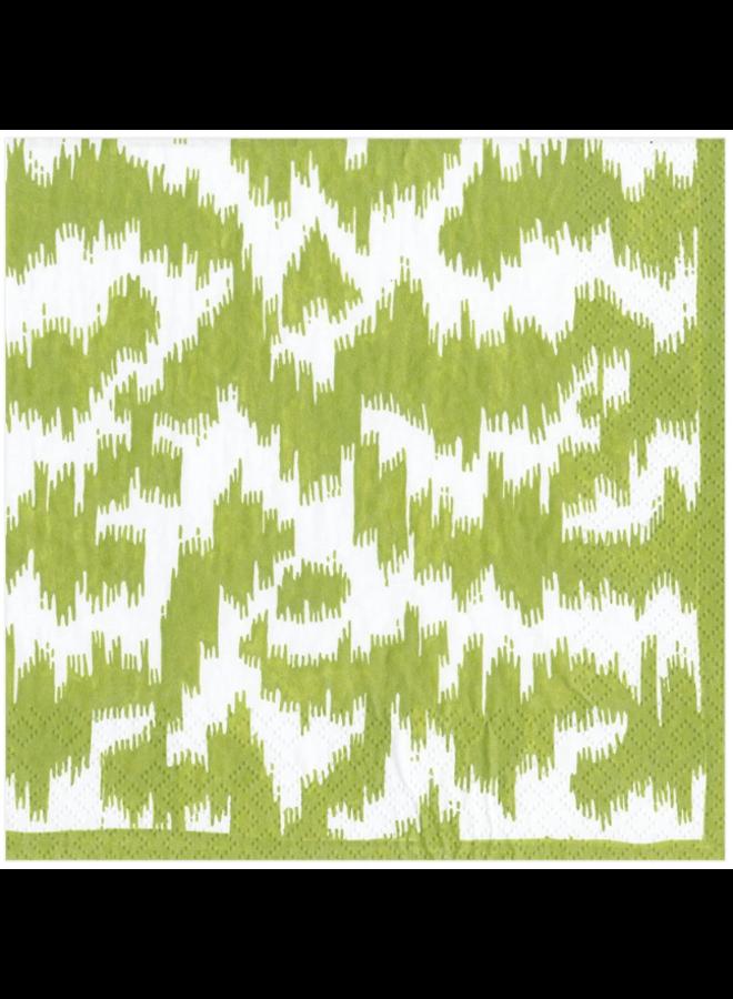 Luncheon Napkin - Modern Moire Green