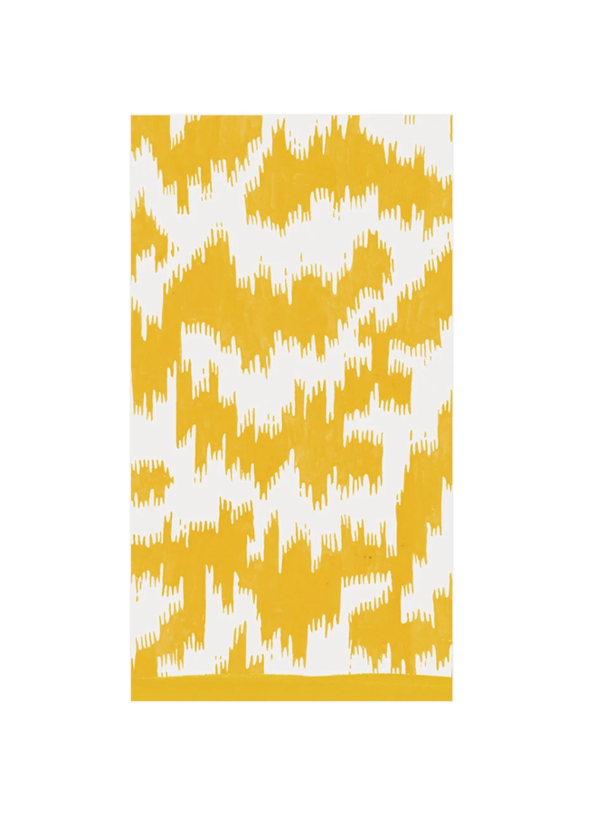 Guest Towel - Modern Moire Yellow