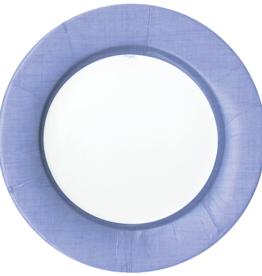 Caspari Salad Plate - Linen Lavender