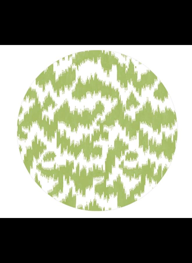 Salad Plate - Modern Moire Green