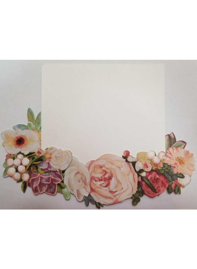 Kelly Kay - Floral Die-Cut