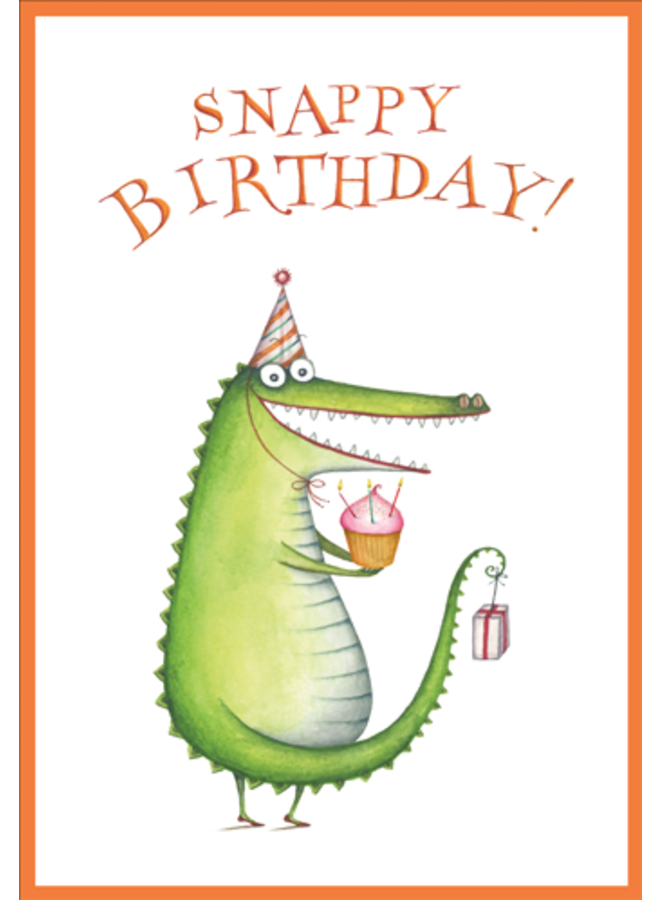 Greeting Card - Snappy Birthday