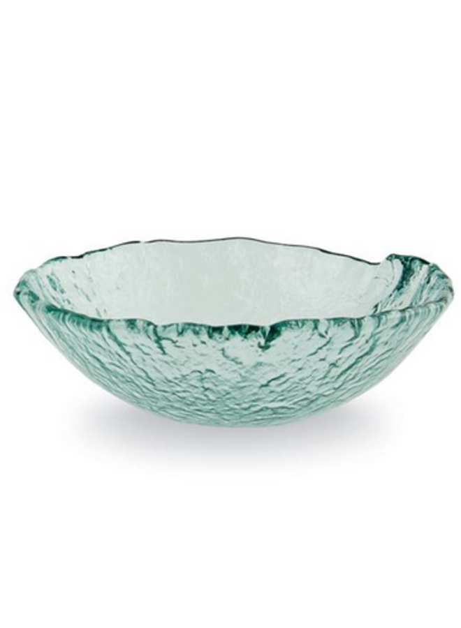 Chunky Glass Bowl